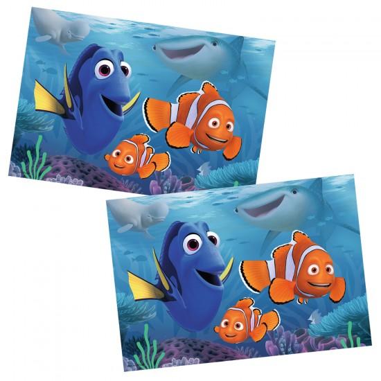 Puzzle 2 x 12 pièces : Le monde de Nemo : Dory se promène en mer - Ravensburger-07601