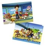 Puzzle 2 x 12 pièces : Pat'Patrouille : Ryder et ses amis
