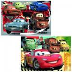 Puzzle 2 x 24 pièces : Cars 2 : Nouvelle aventure