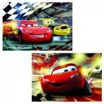 Puzzle 2 x 24 pièces : Cars en scène