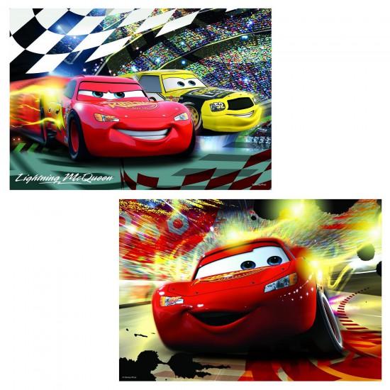 Puzzle 2 x 24 pièces : Cars en scène - Ravensburger-08961