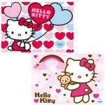 Puzzle 2 x 24 pièces : Le monde d'Hello Kitty