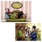 Puzzle 2 x 24 pièces : Le voleur