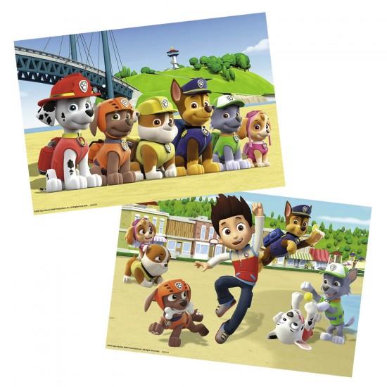 Puzzle 2 x 24 pièces : Pat'Patrouille : Chiens héroïques - Ravensburger-09064