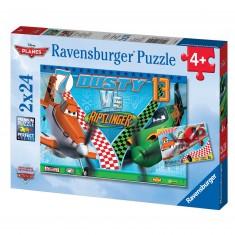 Puzzle 2 x 24 pièces : Planes