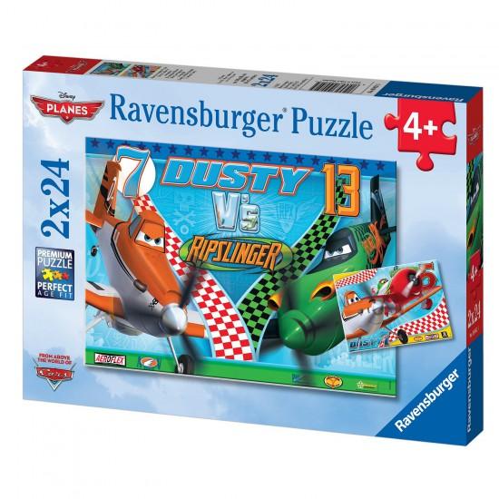Puzzle 2 x 24 pièces : Planes - Ravensburger-09052