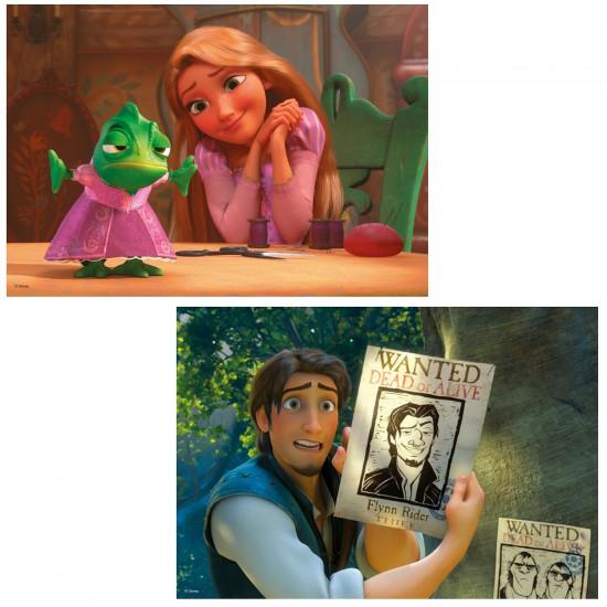 Puzzle 2 x 24 pièces : Princesses Disney : Raiponce - Ravensburger-08867