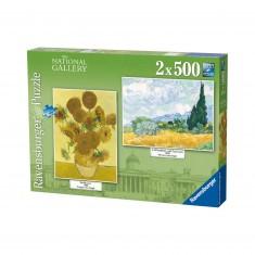 Puzzle 2 x 500 pièces : Vincent van Gogh