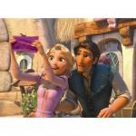 Puzzle 200 pièces XXL - Princesses Disney : Raiponce à la fête des lumières