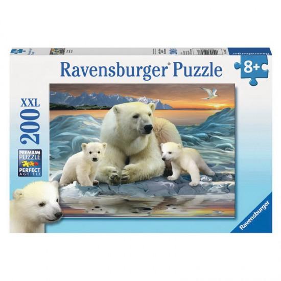 Puzzle 200 pièces : Ours blancs - Ravensburger-12647