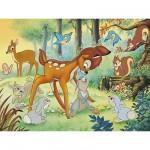 Puzzle 200 pièces - Bambi : Entre amis