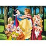 Puzzle 200 pièces - Blanche-Neige et son prince