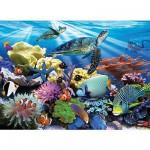 Puzzle 200 pièces - Tortues de mer