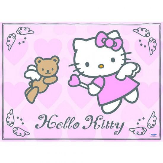 Puzzle 200 pièces XXL - Hello Kitty : Des ailes d'ange - Ravensburger-12683
