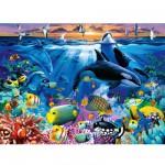 Puzzle 200 pièces XXL - Les fonds sous marin