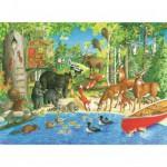 Puzzle 200 pièces XXL : Les amis de la forêt