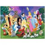 Puzzle 200 pièces XXL : Mes personnages Disney