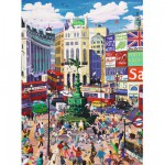 Puzzle 200 pièces XXL : Piccadilly Circus