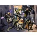 Puzzle 200 pièces XXL : Star Wars Rebels : La rébellion commence
