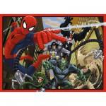 Puzzle 200 pièces XXL : Ultimate Spiderman en luttre contre le mal