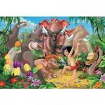 Puzzle 200 pièces XXL - Le Livre de la Jungle : Mowgli