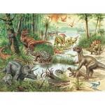 Puzzle 200 pièces XXL - Le monde des dinosaures