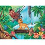 Puzzle 200 pièces XXL - Le Roi Lion : Moments de détente