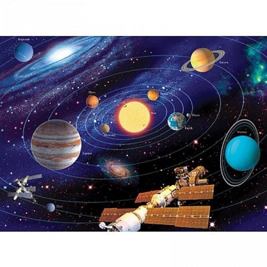 Puzzle 200 pièces XXL - Le système solaire - Ravensburger-12796