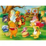 Puzzle 200 pièces XXL - Winnie l'Ourson : Carnaval