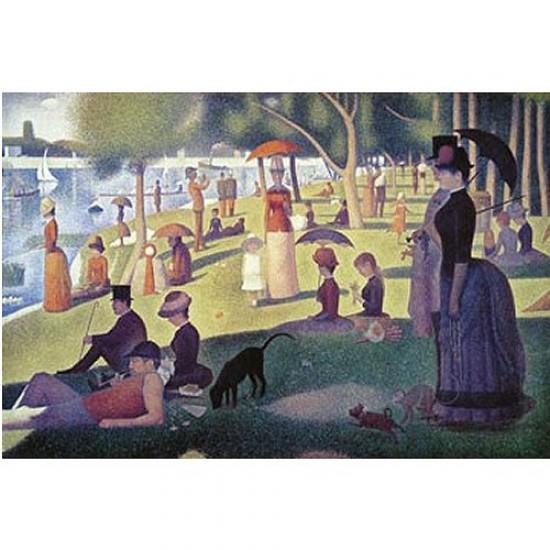Puzzle 2000 pièces - Seurat : Un après-midi à la Grande Jatte - Ravensburger-16616
