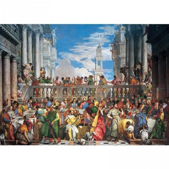 Puzzle 2000 pièces - Caliari : Les noces de Cana - Ravensburger-16653