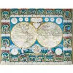 Puzzle 2000 pièces -  Carte historique