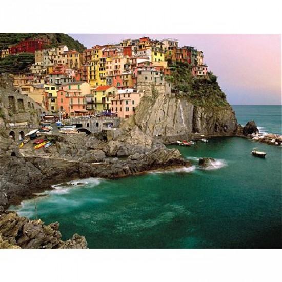 Puzzle 2000 pièces - Cinque Terre, Italie - Ravensburger-16615