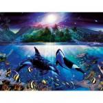 Puzzle 2000 pièces - Orques harmonieux