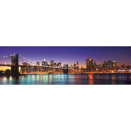 puzzle 2000 pi ces panoramique new york city puzzle ravensburger rue des puzzles. Black Bedroom Furniture Sets. Home Design Ideas