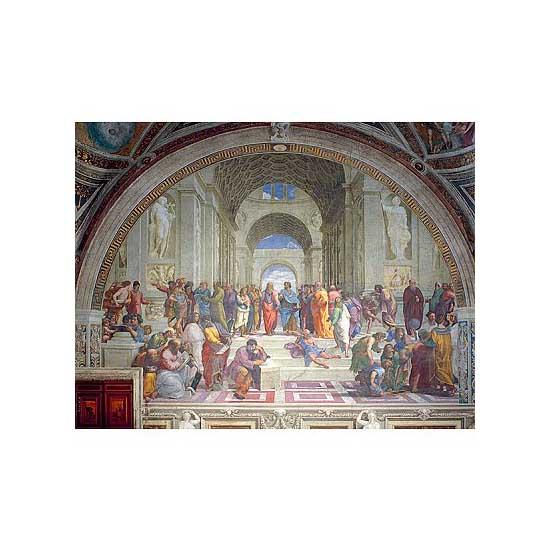 Puzzle 2000 pièces - Raphaël : L'Ecole d'Athènes - Ravensburger-16669
