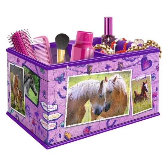 Puzzle 216 pièces 3D : Girly Girl Edition : Boîte de rangement - Ravensburger-12072