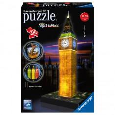 Puzzle 216 pièces 3D : Night Edition : Big Ben