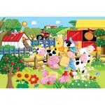 Puzzle 24 pièces géant - La petite ferme