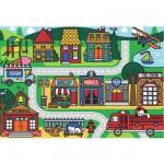 Puzzle 24 pièces géant : Les rues de la ville