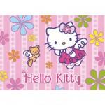 Puzzle 24 pièces géant - Hello Kitty et le petit ours