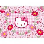 Puzzle 24 pièces géant - Hello Kitty : Fleurs