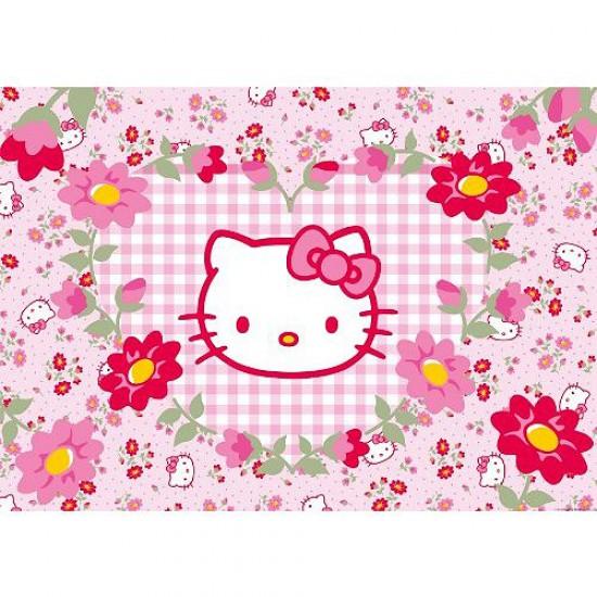 Puzzle 24 pièces géant - Hello Kitty : Fleurs - Ravensburger-05262