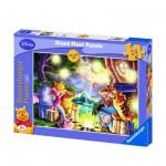 Puzzle 24 pièces géant - Winnie l'Ourson : Feu de camp
