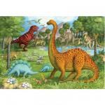 Puzzle 24 pièces géant - Amis dinosaures