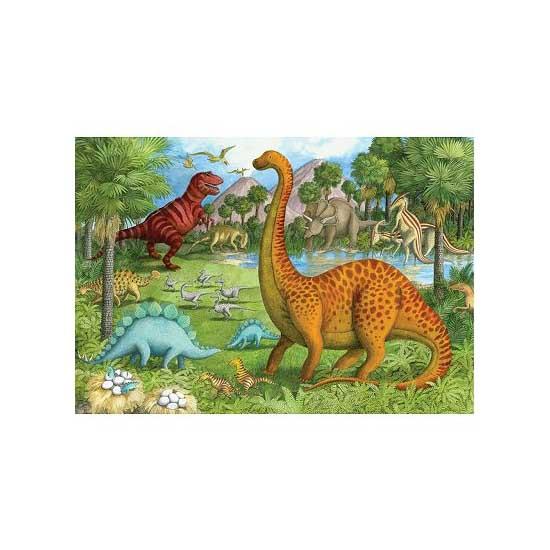 Puzzle 24 pièces géant - Amis dinosaures - Ravensburger-05266