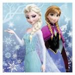 Puzzle 3 x 49 pièces : La Reine des Neiges (Frozen) : Aventures au Pays des Neiges