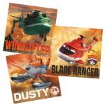 Puzzle 3 x 49 pièces : Planes : Face au danger