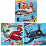 Puzzle 3 x 49 pièces : Planes