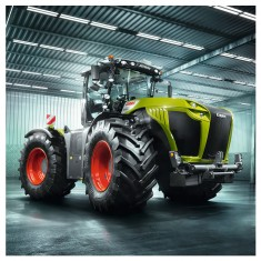 Puzzle 3 x 49 pièces : Tracteurs CLAAS : Axion, Lexion, Xerion